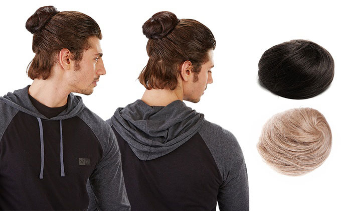 What's The Deal With Clip-On Men Buns